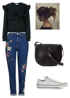 """""""Simple🙋"""" by indahhalit on Polyvore featuring Topshop, MSGM, Converse, Loeffler Randall, men's fashion and menswear"""