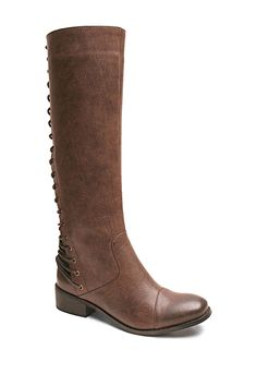 Two Lips Too Lacey Tall Boot by Two Lips on @nordstrom_rack