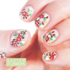 des fleurs pour Pâques postées avec des jours de retard ça compte plus, lol ! http://cakoapaillettes.fr/blog/easter-flowers/