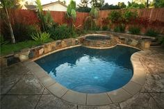 I like the idea of the pool not taking up the entire  yard. This is perfectly tucked in the back corner!!