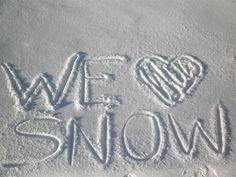 We <3 Snow at Snow Summit! #SnowSummit #Ski #love