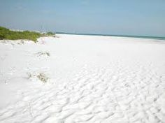 Siesta Key, in Sarasota, has been judged the whitest sand beach in the world.