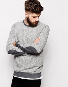 Enlarge Nudie Crew Sweatshirt Sammy Contrast Detail