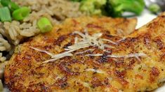This version of Parmesan-crusted tilapia uses only a few ingredients for a quick and easy dinner entree.