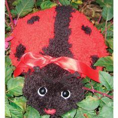 MCG Textiles Huggables Animal Ladybug Latch Hook Kit >>> Click image for more details.