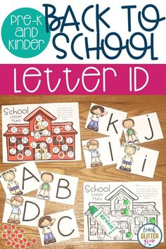 This Hands On Alphabet Activity Helps Students Practice Identifying Letters And Sounds Is Perfect