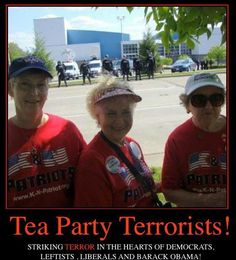 """Tea Party Patriots...labeled as """"terrorists"""" by obama & the media. This is what a tea party rally looks like. ..and they pick up their trash"""