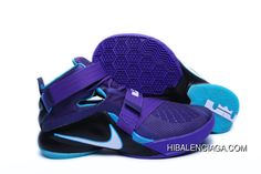 new product ff746 56b15 LeBron Soldier 9 Purple Discount. Nike Shoes For SaleBuy ...