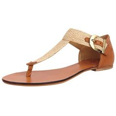 Diana Warner Shazi (€43) ❤ liked on Polyvore featuring shoes, sandals, flats, chaussures, zapatos, sandals - flat, camel, woven sandals, flat pumps and summer sandals