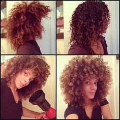 This is pictorial is why you need a diffuser. To learn how to grow your hair longer click here - http://blackhair.cc/1jSY2ux