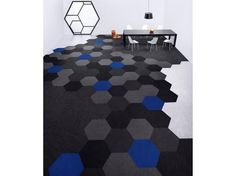 Great shape for  carpet tiles. Shaw Contract Carpet Hexagon Collection. Take a look-see. http://www.shawcontractgroup.com/Collections/Collection_Hexagon