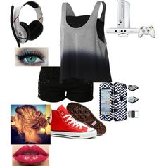 Gamer Girl Outfit 2