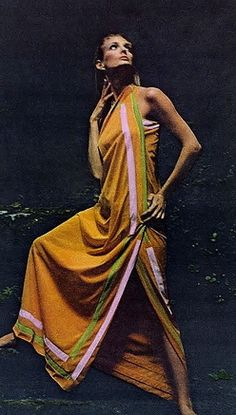 Deborah Dixon photo Bert Stern Vogue US 1964