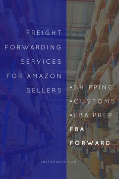 Freight forwarding services for Amazon FBA sellers - Shipping, customs, FBA prep and inspection. fbaforward.com