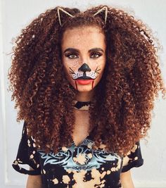 "4,774 Likes, 27 Comments - @curlbox on Instagram: ""fun hair & costume! @joyjah #happyhalloween"""