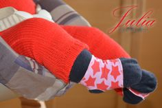 Baby verliert Söckchen Socken nähen Freebook Schnitt Anleitung gratis