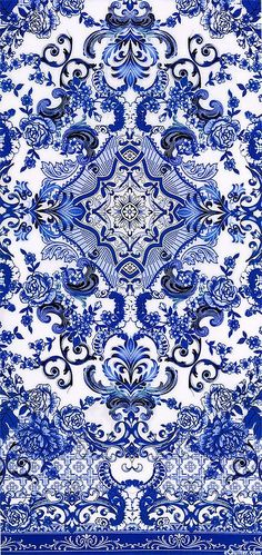 Blue & White - Porcelain Elegance - Quilt fabrics from www.eQuilter.com (could this colours be nice for gilt leather?)