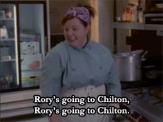 "When she was so excited about Rory getting into Chilton, she started a fire. | 19 Times Sookie St James Was The Best Part Of ""Gilmore Girls"""