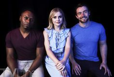 Stars from 'Timeless' 'Teen Wolf' 'Fear the Walking Dead' 'Shadowhunters' and other shows visit TVLine's Shutterstock portrait studio. Izombie Cast, Rose Mciver, Fear The Walking Dead, 2017 Photos, Studio Portraits, Teen Wolf, It Cast, T Shirts For Women, Comics