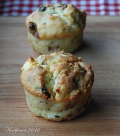 Kochfrosch: Was zum Mitbringen: Muffins mit Feta und getrockneten Tomaten