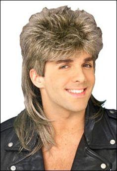 1980u0027s Men Hairstyle | Mullet