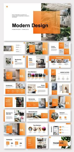 Clean Modern Design Report Presentation Template – Original and high quality PowerPoint Templates Web Design Trends, Layout Design, Web And App Design, Site Web Design, Clean Web Design, Graphisches Design, Graphic Design Layouts, Design Poster, Web Layout