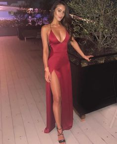 Burgundy Floor Length Cocktail Dress With Split CR 13321 Straps Prom Dresses, Hoco Dresses, Dance Dresses, Ball Dresses, Homecoming Dresses, Cute Dresses, Evening Dresses, Graduation Dresses, Prom Party Dresses