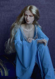 https://flic.kr/p/xLtmBb | In blue | Lord Thandir -- DollClans Siber head & DragonDoll body