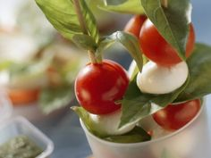 Rezept: Tomaten-Mozzarella-Spieße
