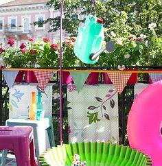 Dusche auf dem Balkon - Kreative Deko für Balkon und Garten 5 ...