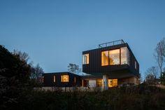 Office of Architecture elevates zinc-clad Hamptons home above a floodplain