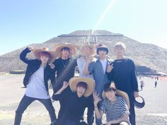 BTS Tweet -- 141031 BTS @ Mexico for Music Bank