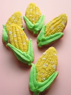 Farm Cookies, Cut Out Cookies, Yummy Cookies, Cupcakes, Cupcake Cookies, Sugar Cookies, Seafood Party, Garden Cakes, Thanksgiving Cookies