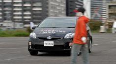 تويوتا تطور نظاما يمنع اصطدام السيارة بالمشاه | السيارات | ارابيا