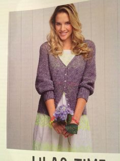 Lilac cardigan | Simply Crochet Issue 20