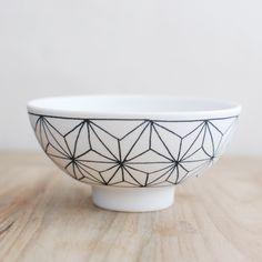 勝村 顕飛・飯椀 麻の葉紋 | kokoshi cafe