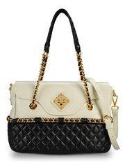 Moschino Online Store - Handbags - Medium leather bag