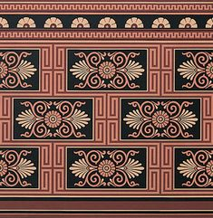 Victorian Home Wallpapers | Greek Inspired Dado | Bradbury