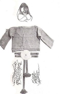 The Borum Eshoj costume, also in the National Museum of Denmark.  Note the resemblance to the Egtved Girl's costume, also on this board.
