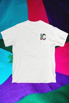 White Embroidery Tee Shirt