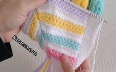 CİCİ BEBEKLERE CİCİ, RENKLİ, ŞİRİN YELEK YAPALIM | Nazarca.com Baby Knitting Patterns, Hand Knitting, Dragon Hand Tattoo, Free Crochet, Crochet Hats, Knitted Baby Clothes, Owl Charms, Double Crochet, Fingerless Gloves
