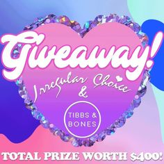 🌈 GIVEAWAY TIME 🌈  Have we got a treat for any shoppers delight☺️ Win a $200 voucher for both @irregularchoiceoz and @tibbsandbones 🤑 • Winner will be announced Friday 10th of May @ 12pm To enter this #competition :  1. Make sure your following both @tibbsandbones and @irregularchoiceoz (we check 😉) 2. Tag the person you love splashing the cash with the most 👯♀️ 3. Like this pic 👍 4. Enter as many times as you'd like 😎 • Good luck💘