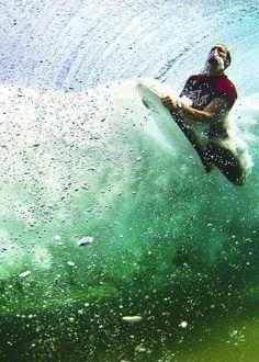 underwater riot  #surf #surfing