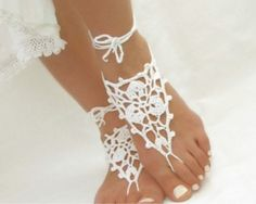 Footless sandal Barefoot sandal Beach themed wedding