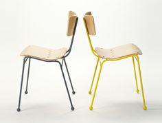 The Roebuck was originally designed as a low-cost, stacking alternative to the Antelope for café and dining venues. Metal Chairs, Wood Chairs, Dining Chairs, Racing, Folding Chairs, Innovation, Design, Furniture, Home Decor