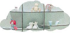 Mintgroen Wandkastje DJECO voor Babykamer of Kinderkamer. -Dreumes enZo Kinderwinkel