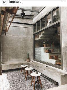 Cafe Shop Design, Coffee Shop Interior Design, Coffee Design, House Design, Cafe Restaurant, Restaurant Design, Snack House, Starting A Coffee Shop, Cafe Concept