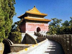 Ming Tombs in Beijing China
