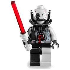 LEGO Star Wars LOOSE Mini Figure Battle Damaged Darth Vader with Grey Lightsaber (Force Unleashed) $13.89