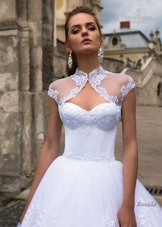 Vestido de noiva Emoção - Coleção Lago dos Cisnes 2018. www.russianoivas.com
